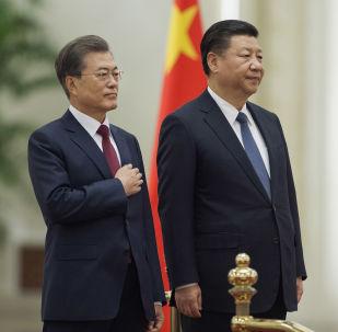 韓國總統:韓方致力於通過和平手段解決朝鮮半島問題