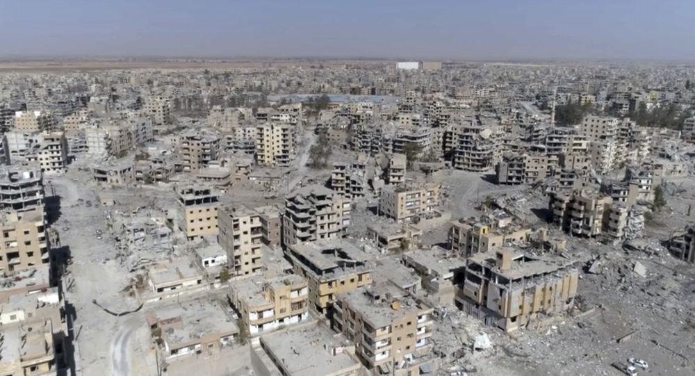 敘利亞外交部把國際聯盟解放拉卡的行動等同於種族滅絕