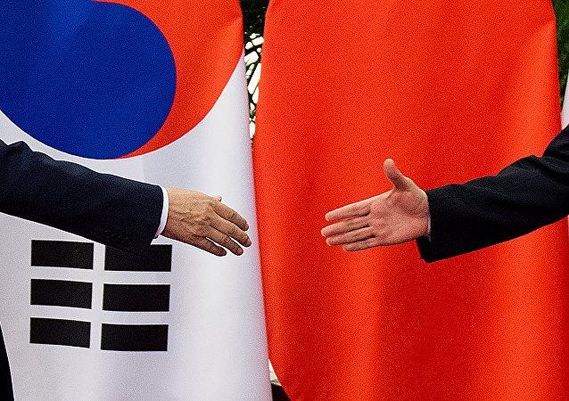 中韩经贸联委会第22次会议举行 强调积极应对贸易保护主义