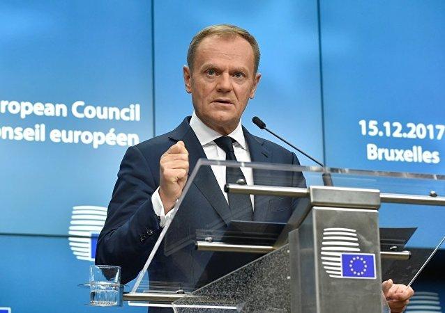 歐洲理事會主席唐納德•圖斯克