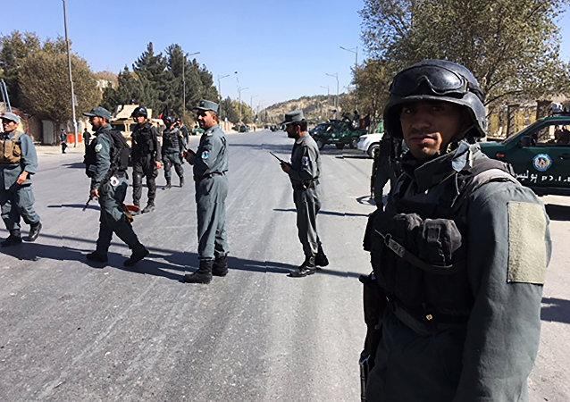 阿富汗安全力量
