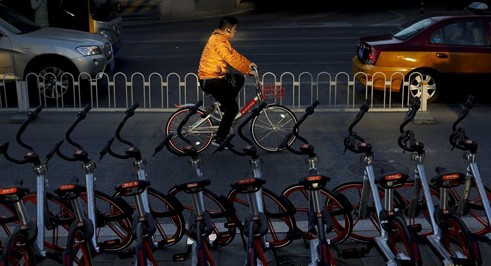 中國共享單車已開始在全球佈局