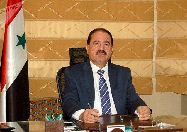 叙利亚交通部长阿里∙哈穆德