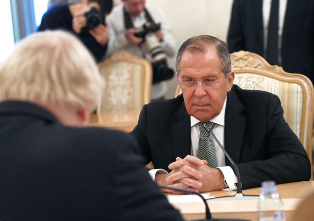 俄外长:有关俄干预他国事务的言论仅仅只是无端指控