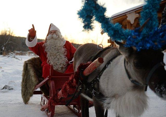 圣诞老人向全世界送出50亿份礼物