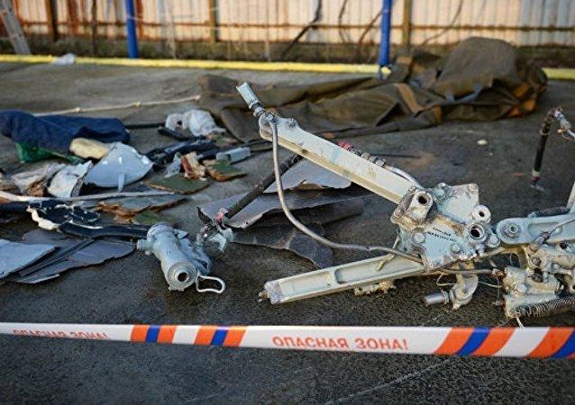 调查结果可排除图-154失事飞机上发生爆炸的可能