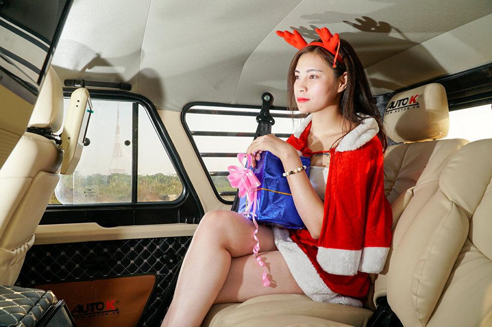 駕駛該款車可以隨心所欲,達到越南任何一個偏遠的角落。
