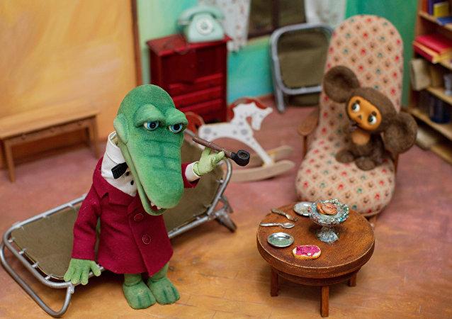 《大耳猴切布拉什卡与鳄鱼根纳》