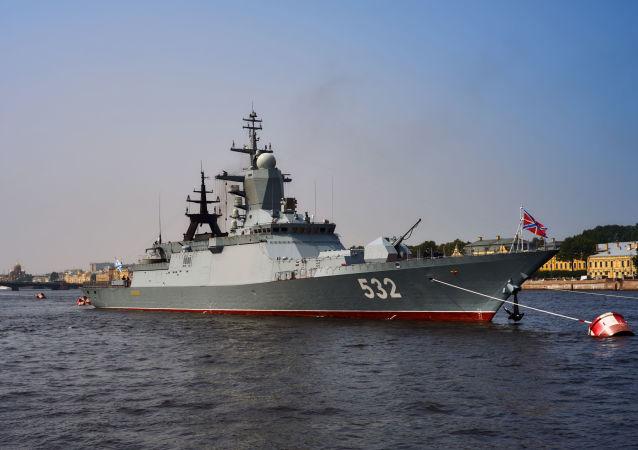 「波基」號護衛艦