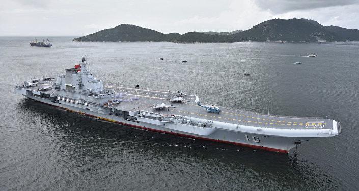 一艘航母——辽宁舰(资料图片)