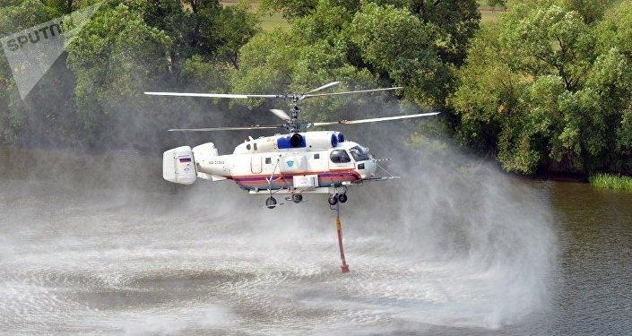 卡-32A消防直升机