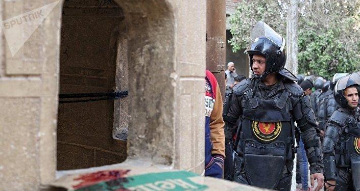 消息人士:埃及因加强节前安全措施避免教堂恐袭规模扩大