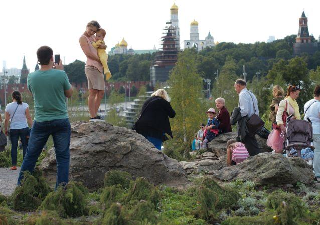 莫斯科扎里亞季耶公園