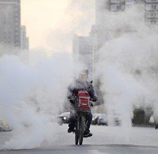 中國冬季採暖用氣供應不足