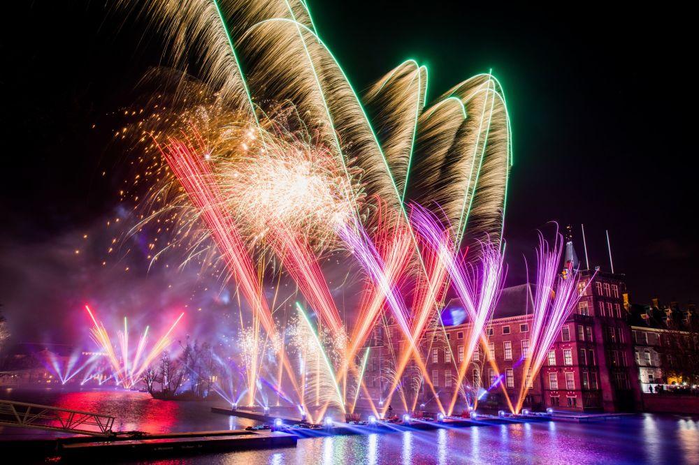 荷蘭新年慶祝活動。