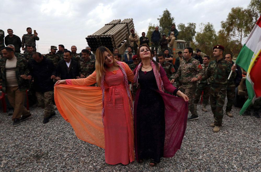 伊拉克庫爾德人慶祝新年。