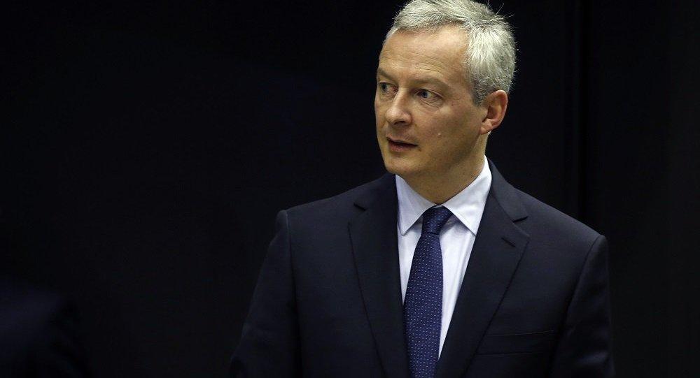 法國經濟和財政部長布魯諾∙勒梅爾
