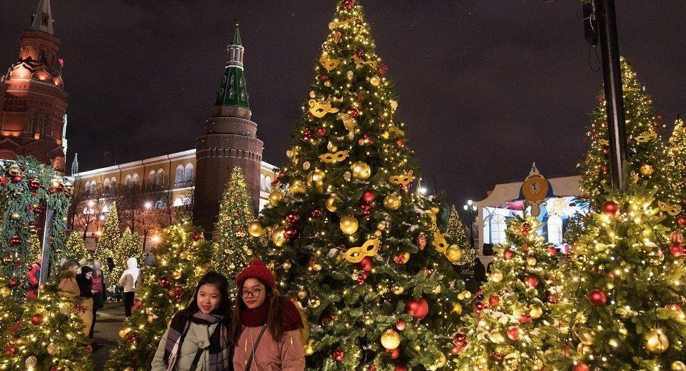 元旦期间莫斯科接待的外国游客大部分将来自中国