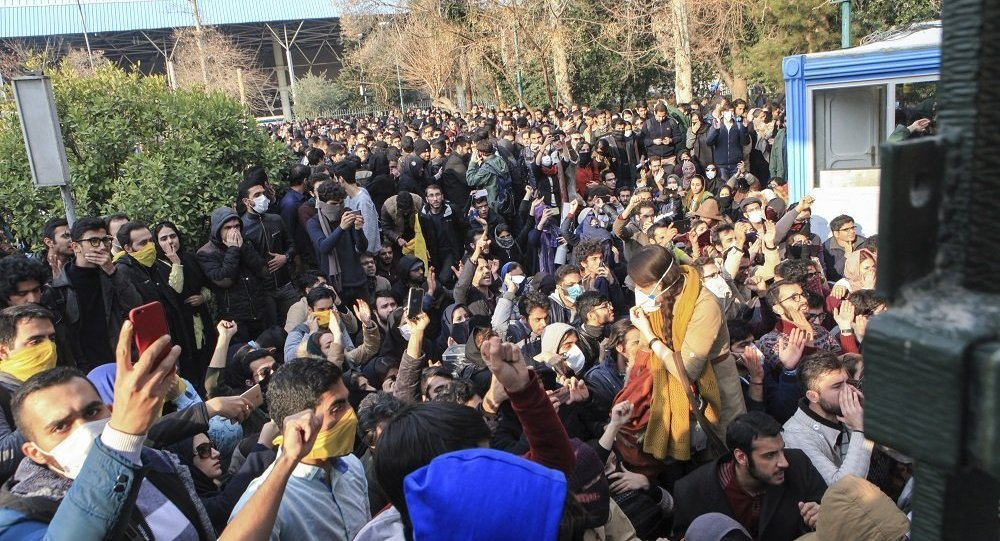 伊朗抗议活动期间逮捕约3700人