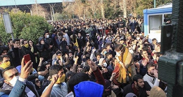 伊朗抗議活動期間逮捕約3700人