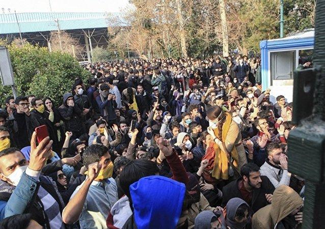 伊朗抗议活动