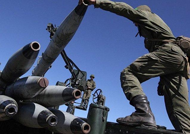 俄国防部:陆军正研制新型高炮综合系统