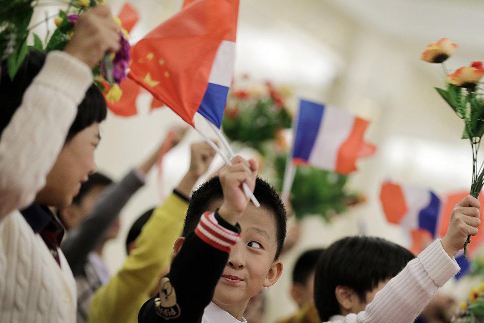 法國支持中國一帶一路倡議