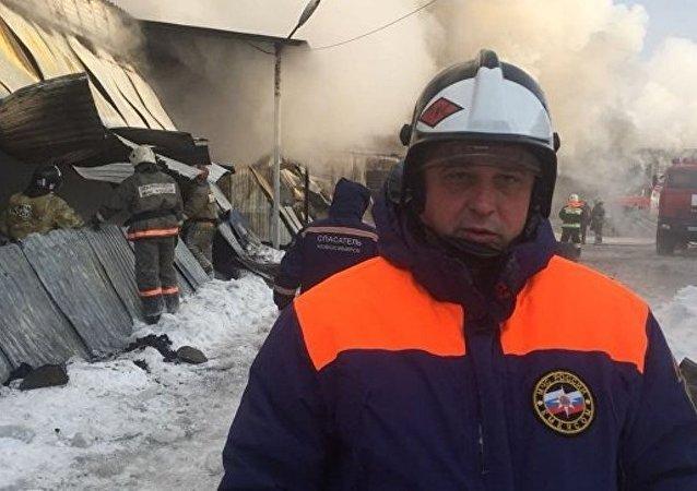 新西伯利亚,火灾