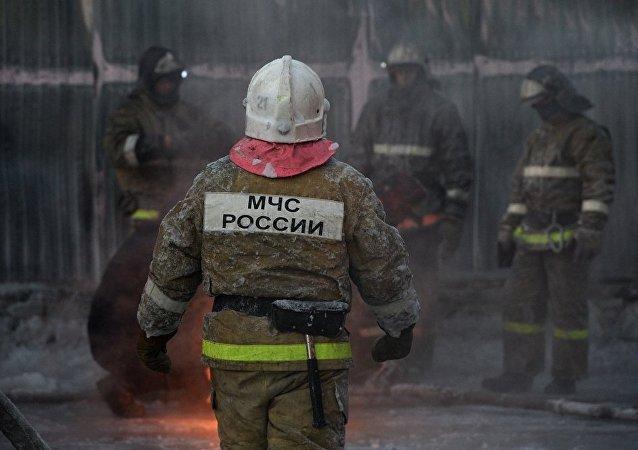 俄緊急情況部:發生火災的新西伯利亞近郊鞋廠為非法生產