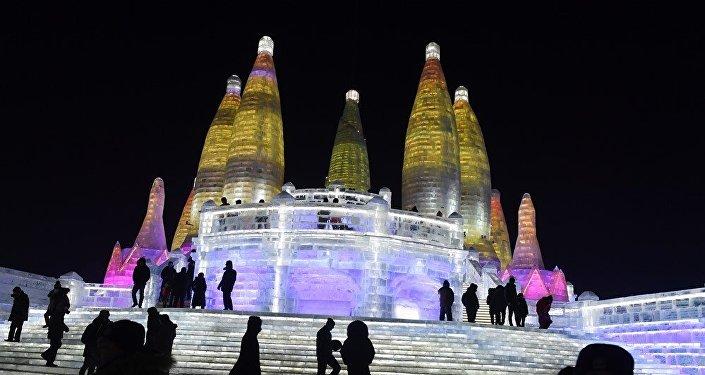 中國哈爾濱國際組合冰冰雕比賽