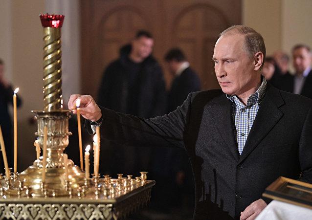 普京祝賀東正教徒聖誕節快樂