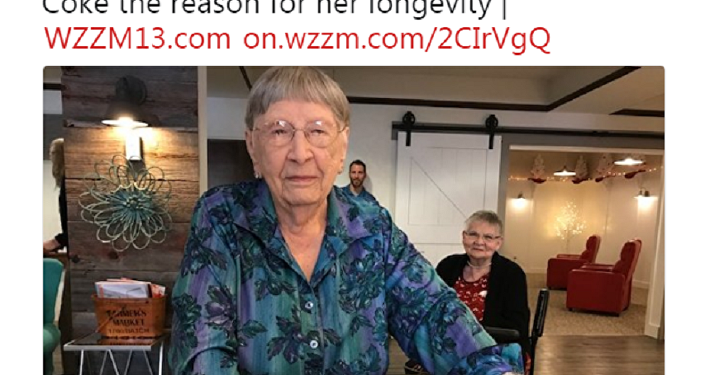 109岁的美国寿星:我每个周五喝葡萄酒