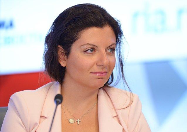 俄羅斯RT電視台和衛星通訊社總編瑪格麗塔·西蒙尼揚