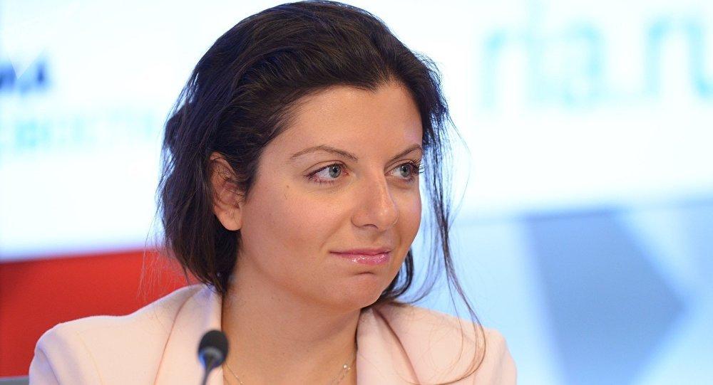 「今日俄羅斯」國際通訊社和RT電視台主編瑪加麗塔·西蒙尼揚