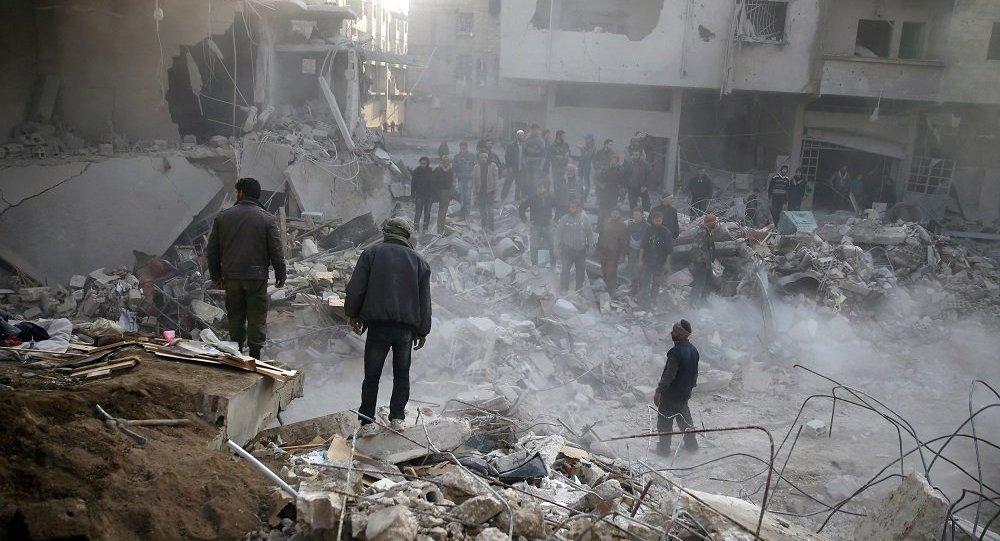 敘大馬士革市中心遭迫擊炮襲擊 一人喪生