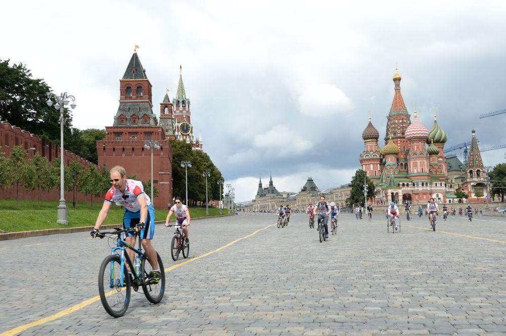 莫斯科红场,2015年。