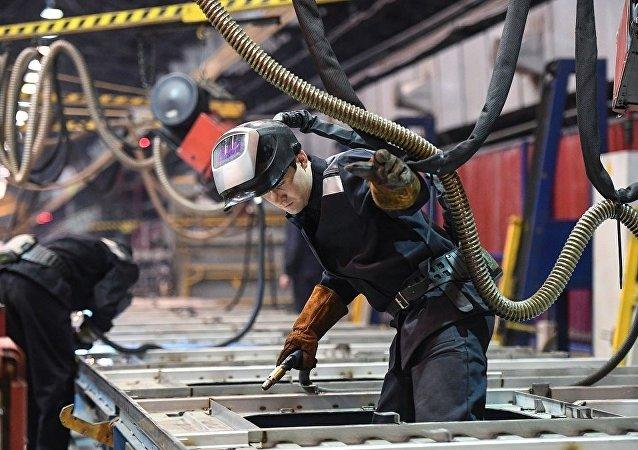 普京:俄经济进入小幅但稳定增长轨道