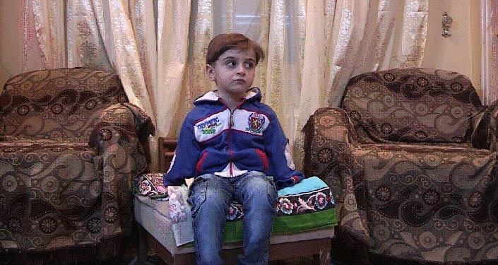 叙利亚儿童亚希亚