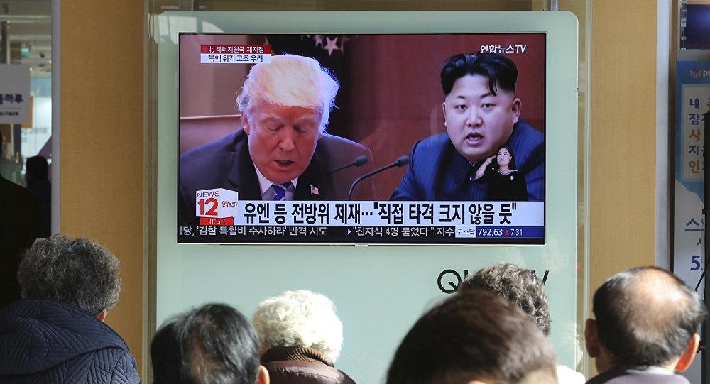 報紙:特朗普會晤金正恩時將要求朝鮮在一年內實現半島無核化