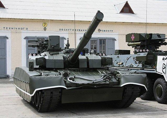烏克蘭「堡壘」坦克
