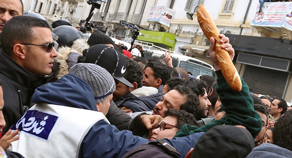 突尼斯反政府抗议