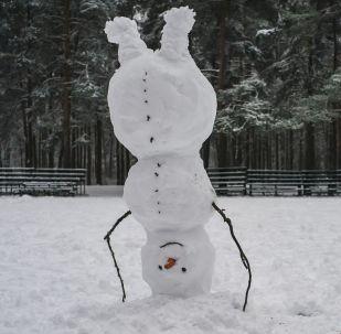 世界各地雪人出炉
