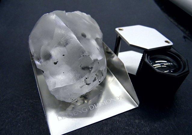 莱索托矿山发现世界第五大钻石