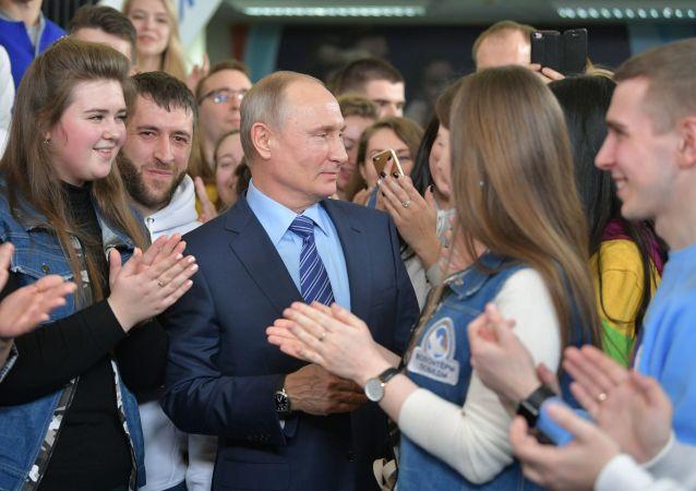 普京競選總部已徵集逾百萬支持者簽名