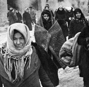 列宁格勒大围困75周年