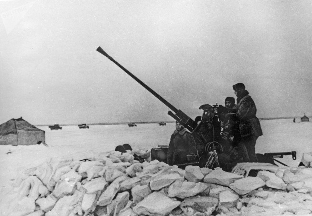 偉大衛國戰爭期間的「生命之路」