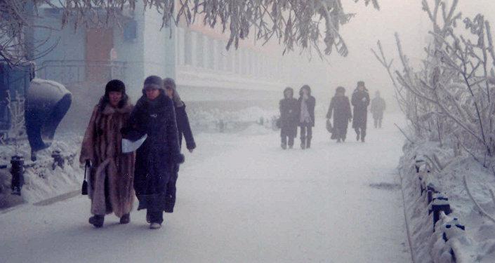 俄雅库特国际马拉松比赛将于今日在零下50度的气温下举行