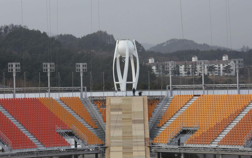 平昌奥林匹克体育场全貌