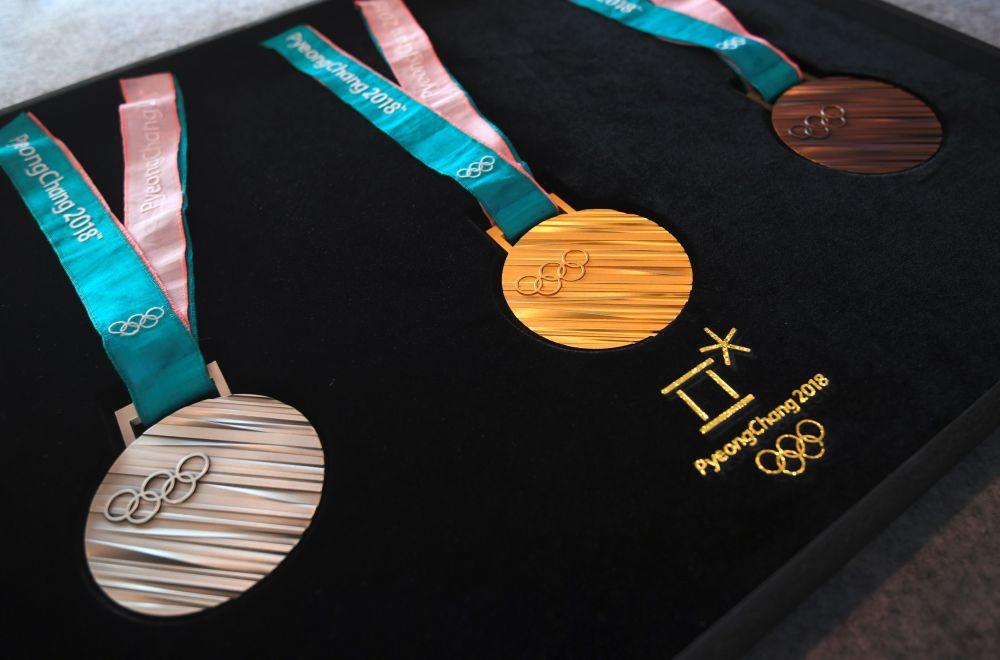 2018冬奥会奖牌