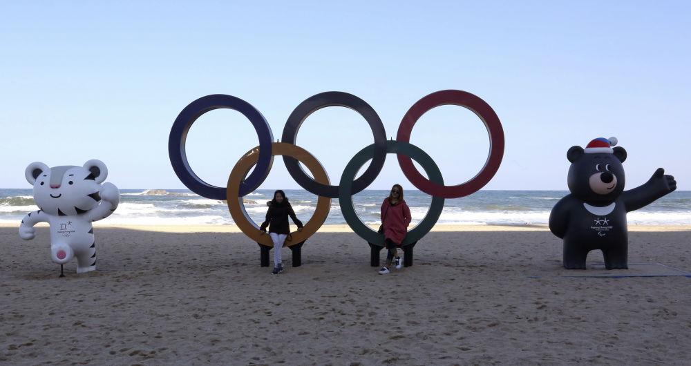 第23届冬奥会标志